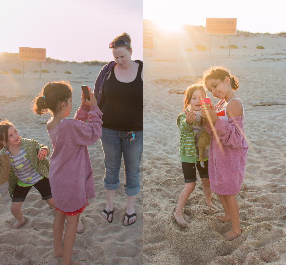 My Mini Human taking pictures and showing them off... August 7, 2015