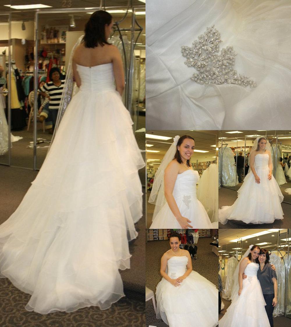 January 2011 - Jess at David's Bridal