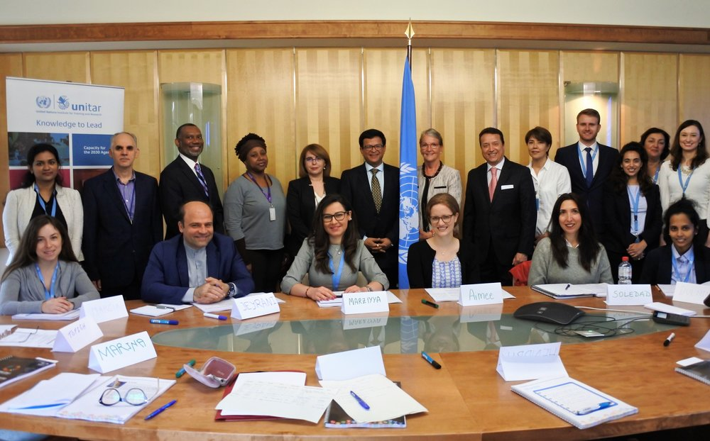 UNITAR Convenes Workshop for Leadership Development