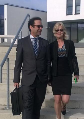Bernadette Clancy and Dermot O'Reilly