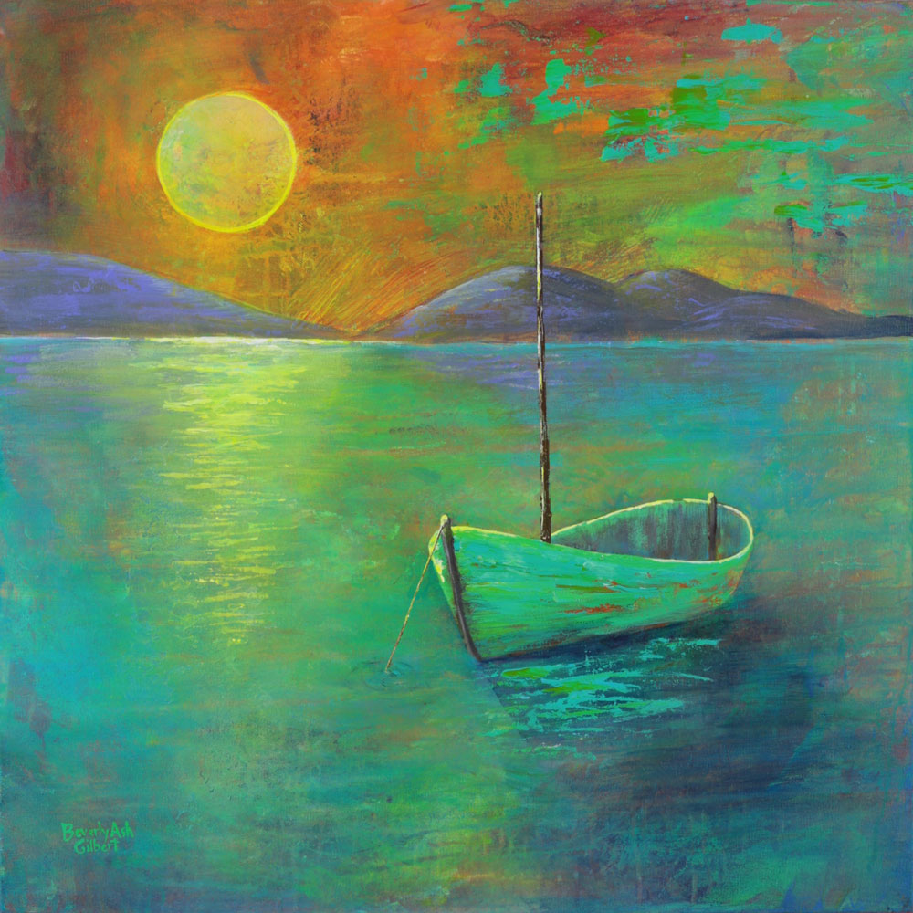 After A Day Sailing - Sea of Color Painting Collection - Beverly Ash Gilbert