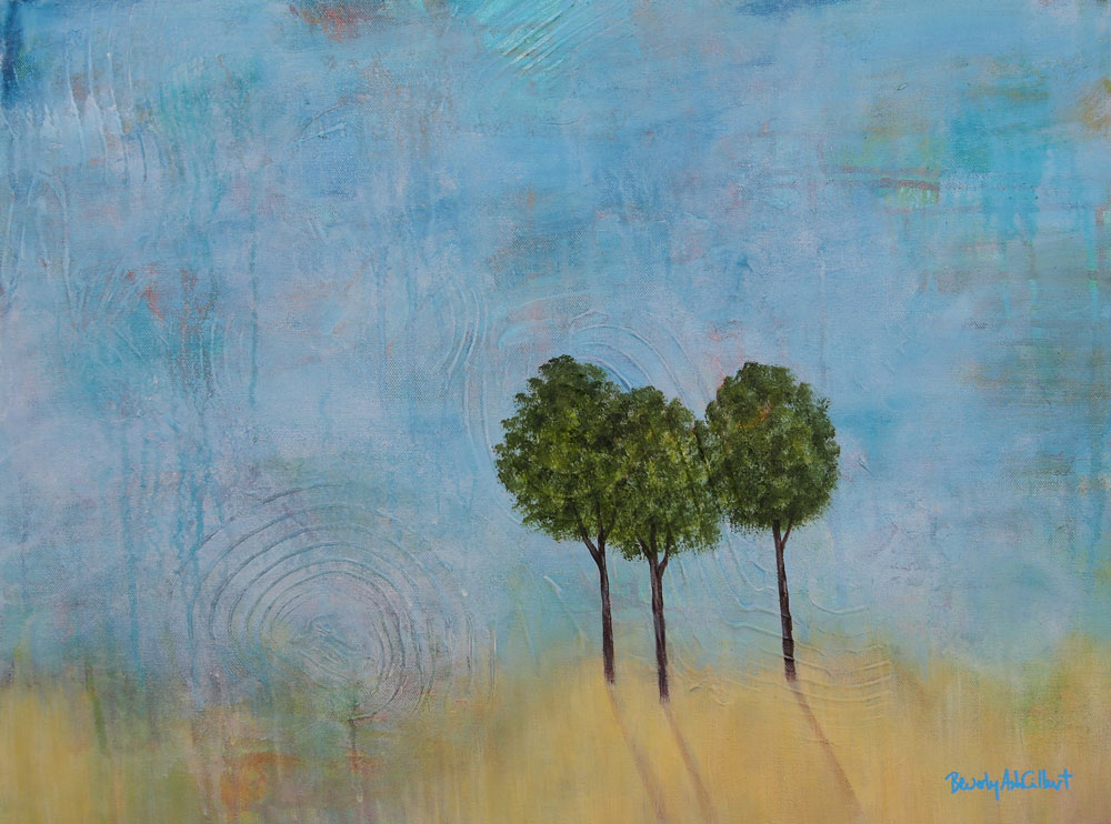 Long Shadows - Dreamy Landscapes Painting Collection - Beverly Ash Gilbert