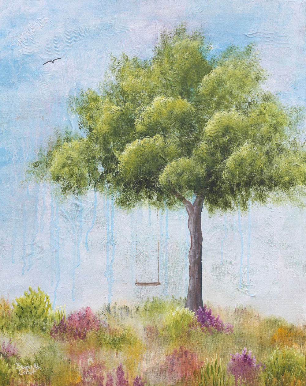 Summertime - Dreamy Landscapes Painting Collection - Beverly Ash Gilbert