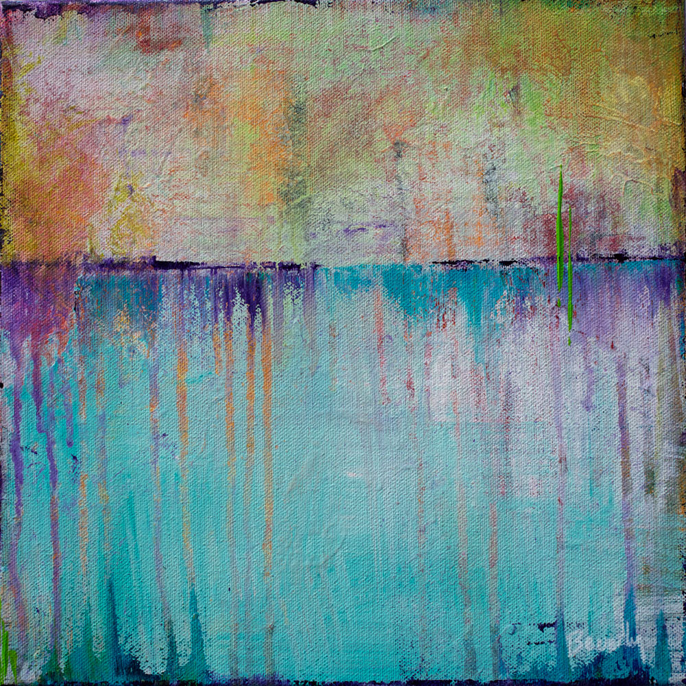 Abstract Unnamed - Color Play Painting Collection - Beverly Ash Gilbert