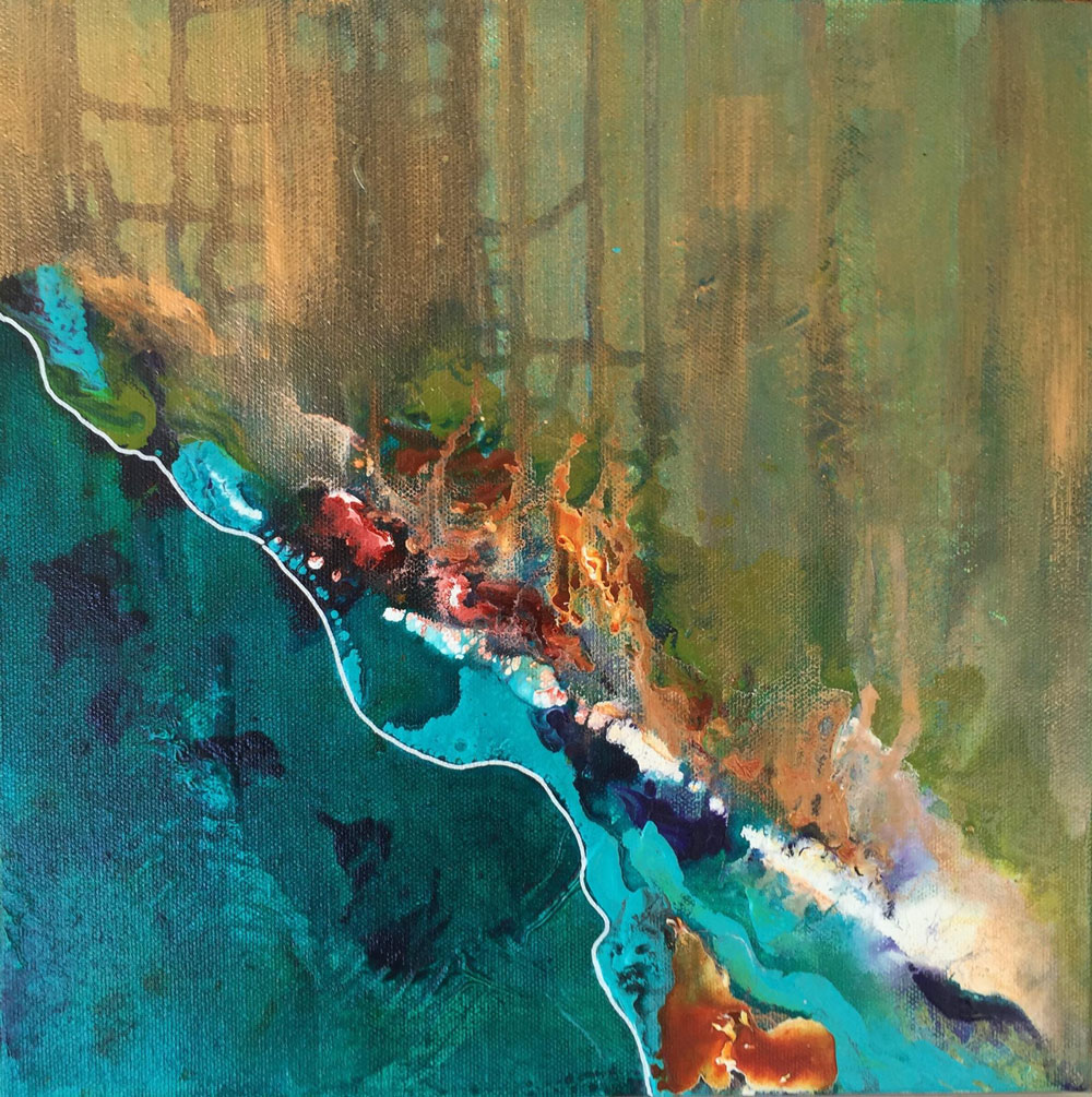 Copper Coast - Color Play Painting Collection - Beverly Ash Gilbert