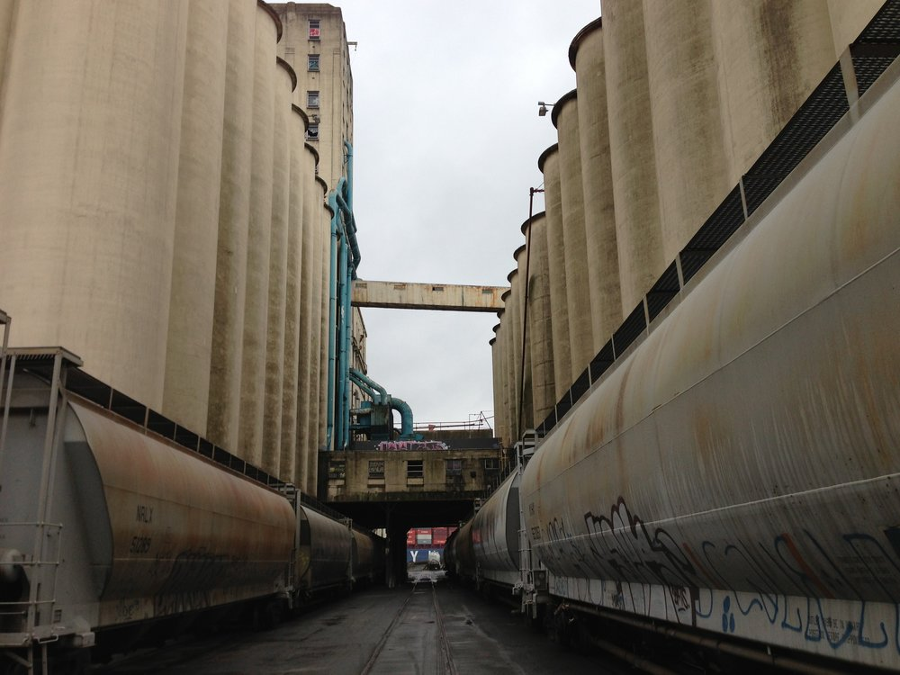 Seattle Grain Silo