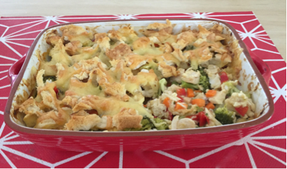 chicken and vegetable bake