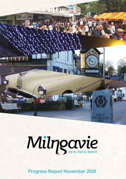 Progress report for the Milngavie renewal ballot in 2018.