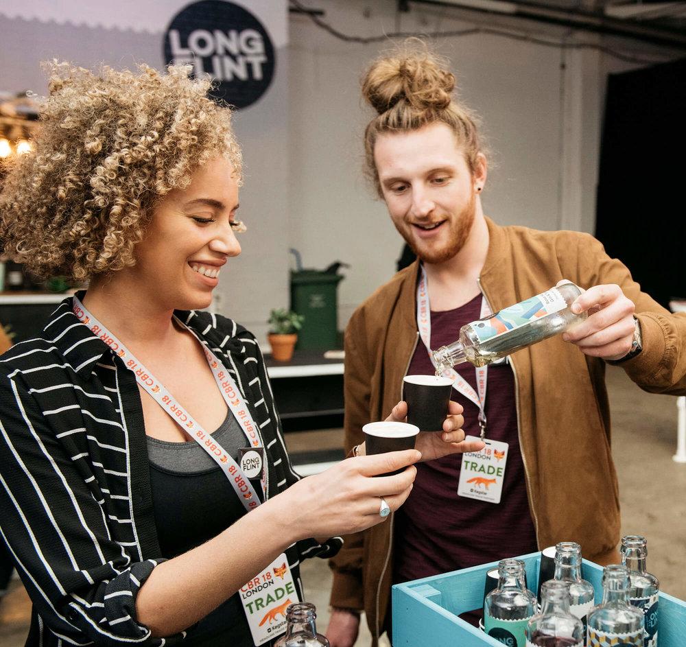 Longflint Summer Drinks, Shoreditch 2018