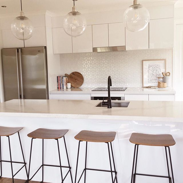 The heart of my home! I am all about the simplicity and lightness of neutrals and wood tones.