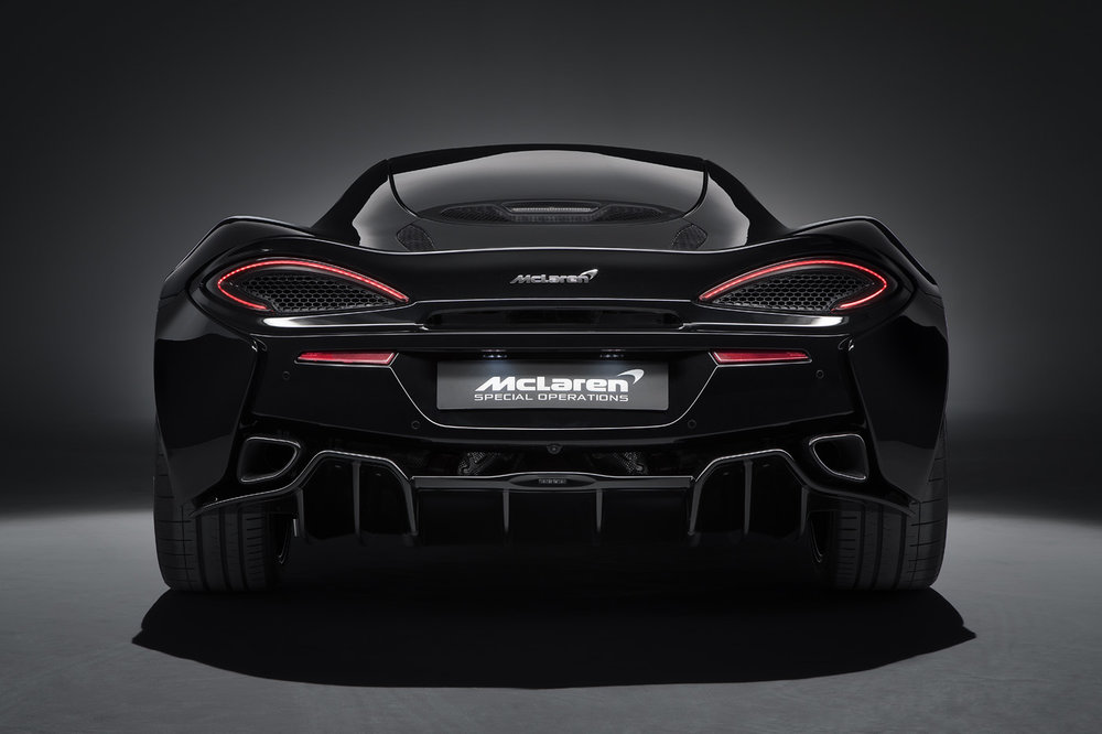 Latest Project - McLaren 570GT Black Edition
