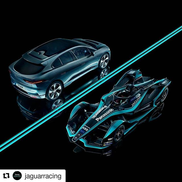 #Repost @jaguarracing (@get_repost) ・・・ Further stunning image with a opposite side by side pair of @Jaguar from the great #car