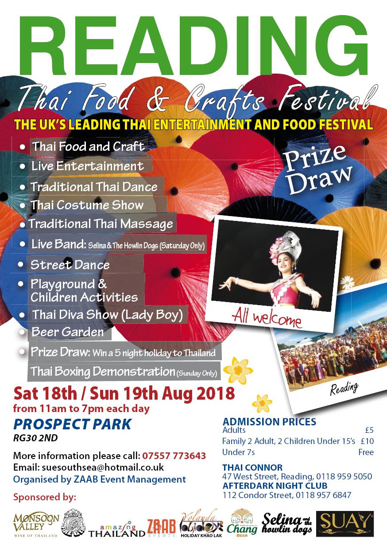 Reading Thai Festival 2018