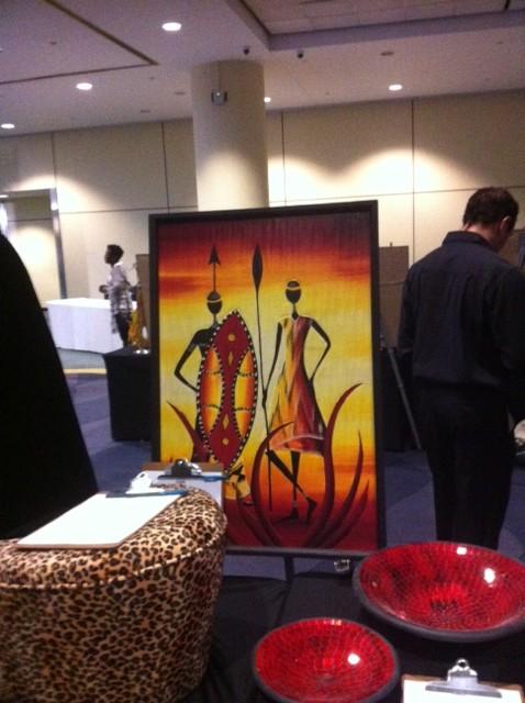 Silent auction art