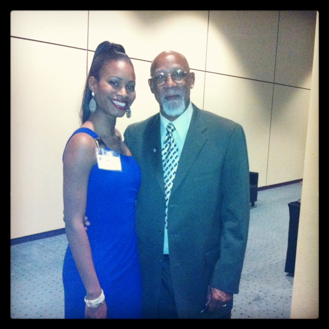 Dr. Carlos and I!