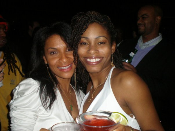 My 20s: When I met Teedra Moses on New Years Eve and my one eye fell asleep.