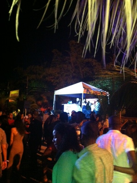 Tribe fete...the venue was lovely!