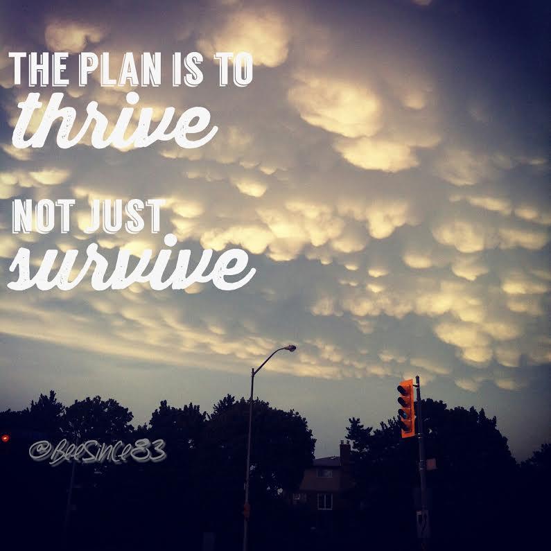 thrive-survive