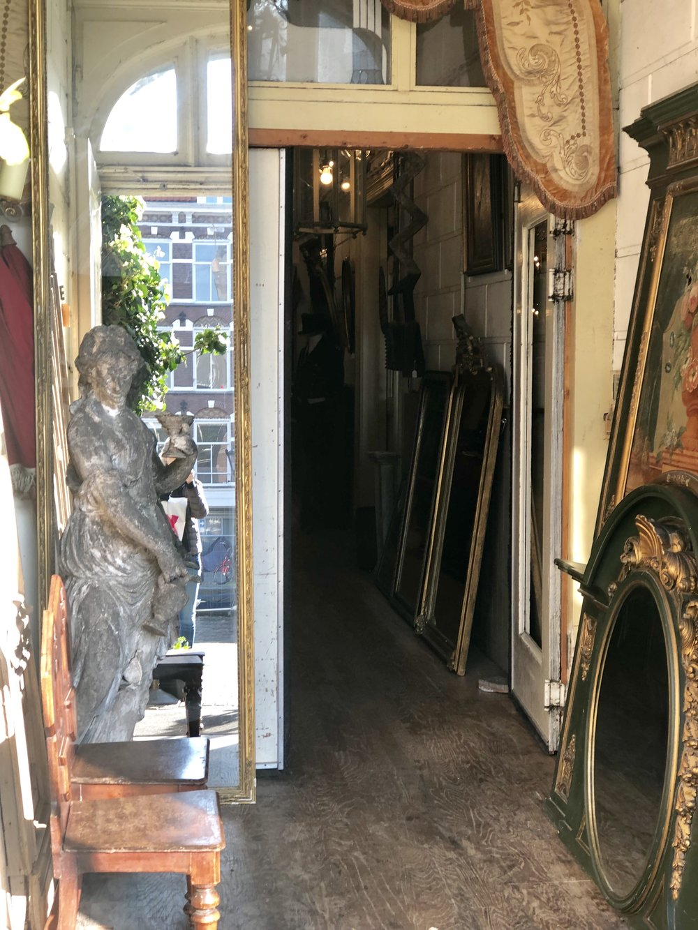 This is a GORGEOUS antiques shop on Prinsengracht with pieces from all over Europe.