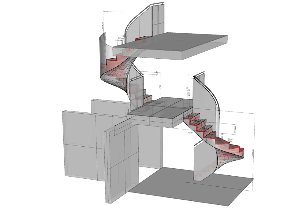 cad-stair