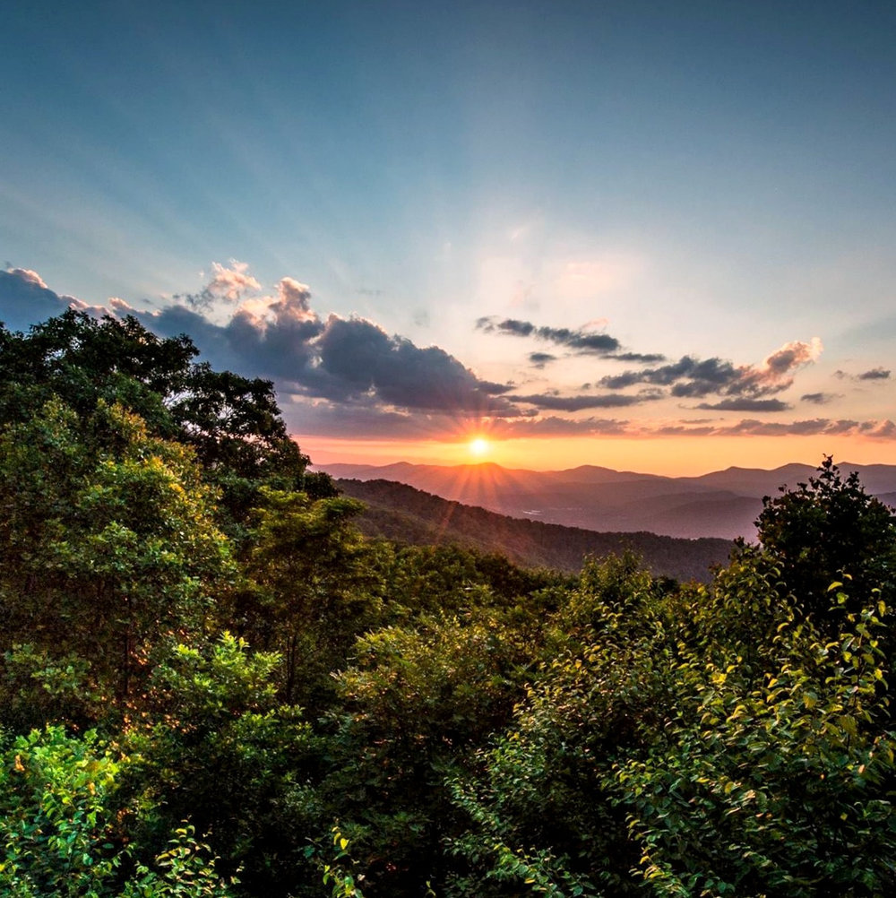 Nature Painting - Blue Ridge Mountains
