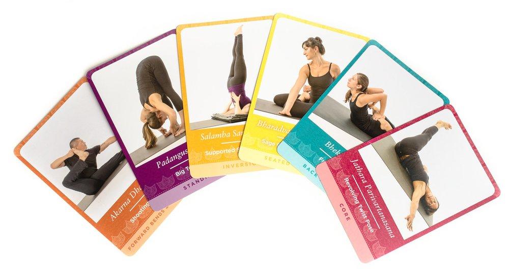 Yoga Pose Deck by Mark Stephens
