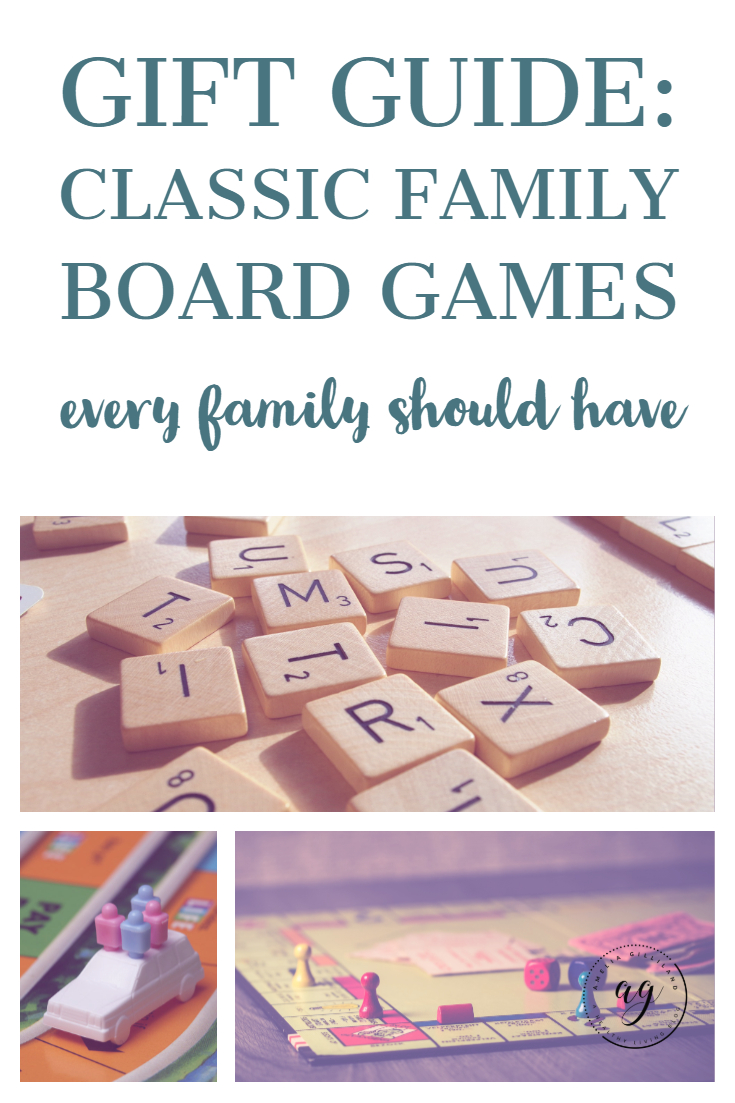 gift guide classic board games.