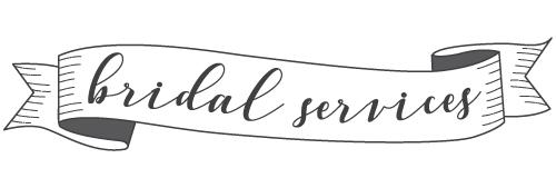 Lansing Bridal Salon Services