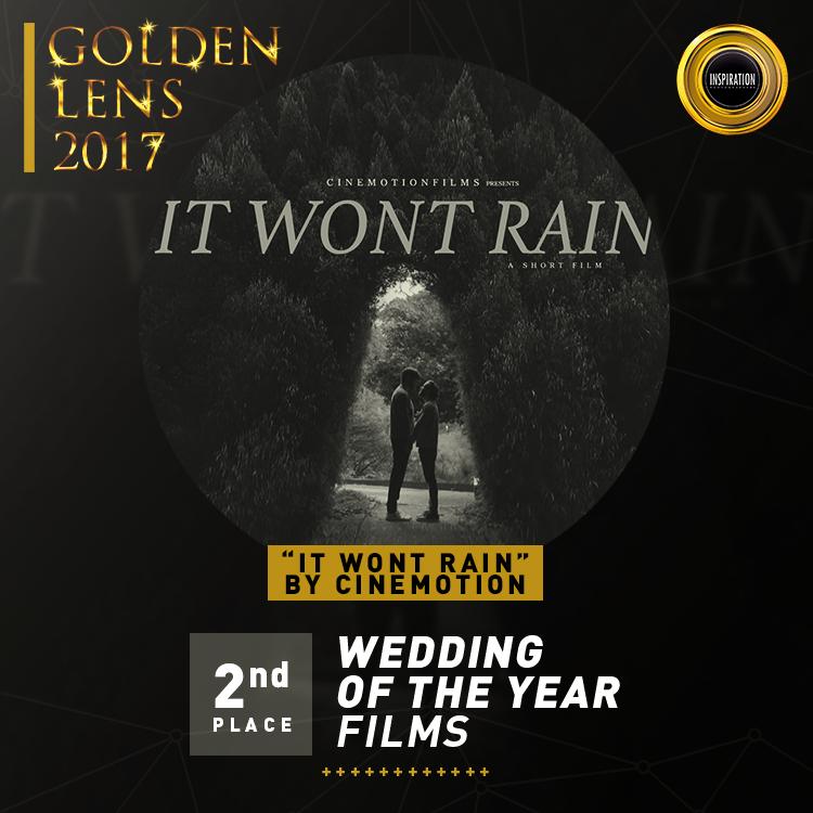 2 lugar, Casamento do ano, em São Paulo, no lente de Ouro 2017