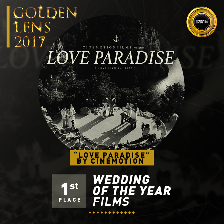 1 lugar Casamento do Ano, Ibiza, no lente de ouro 2017
