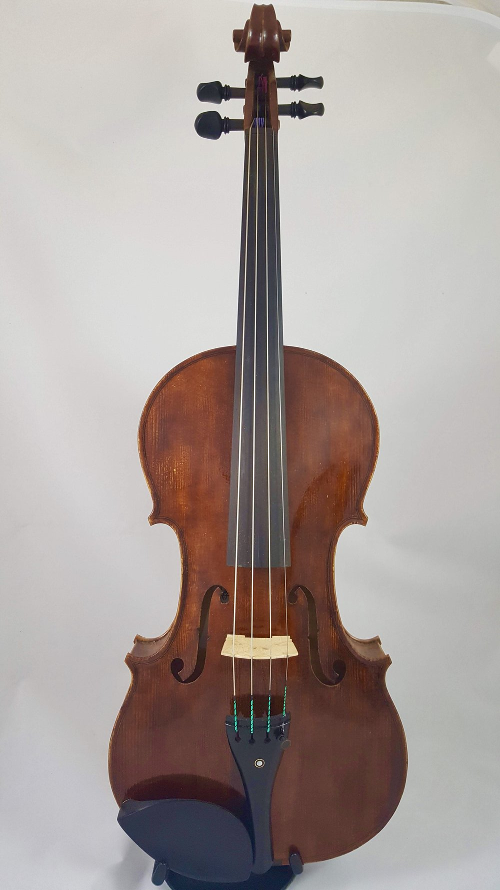 """Robyn Sullivan 15 3/4"""" viola, personal model. This slightly smaller viola combines playability with a full Resonant Tone - Price $6000*Currently at Chicago Strings"""