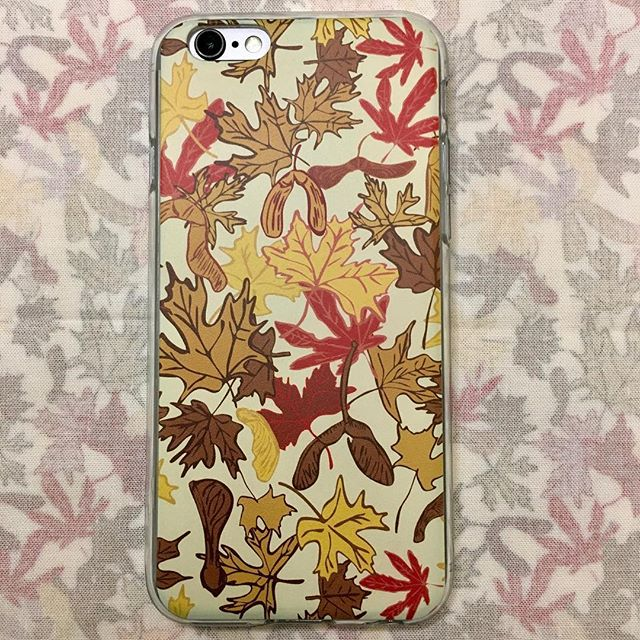 """I bought one of my iPhone cases from @inktalecom, """"Fall Comes to Mapleville."""" Really pleased with how it came out. #iphonecase"""
