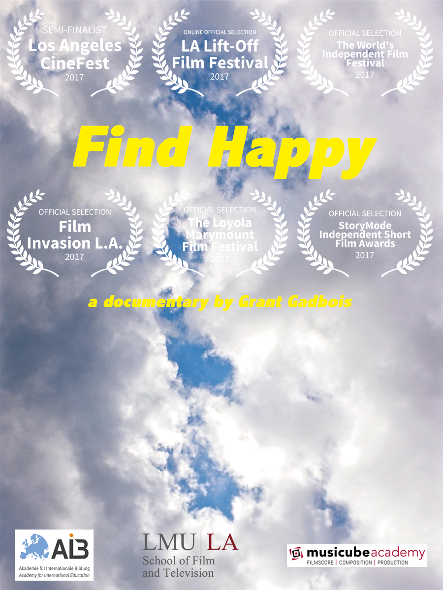 Find Happy - A short documentary film featuring a young man's journey to discover the origin and nature of happiness through the people of Aarhus, Denmark: supposedly the happiest city in the world. Filmed in December of 2016, this journey is both foreign and familiar - director, Grant Gadbois is also the star - and his journey promises to enliven the heart with humor and wonder as the film reveals an often undiscussed side to the human experience. Look below for the full film. I hope you enjoy it!