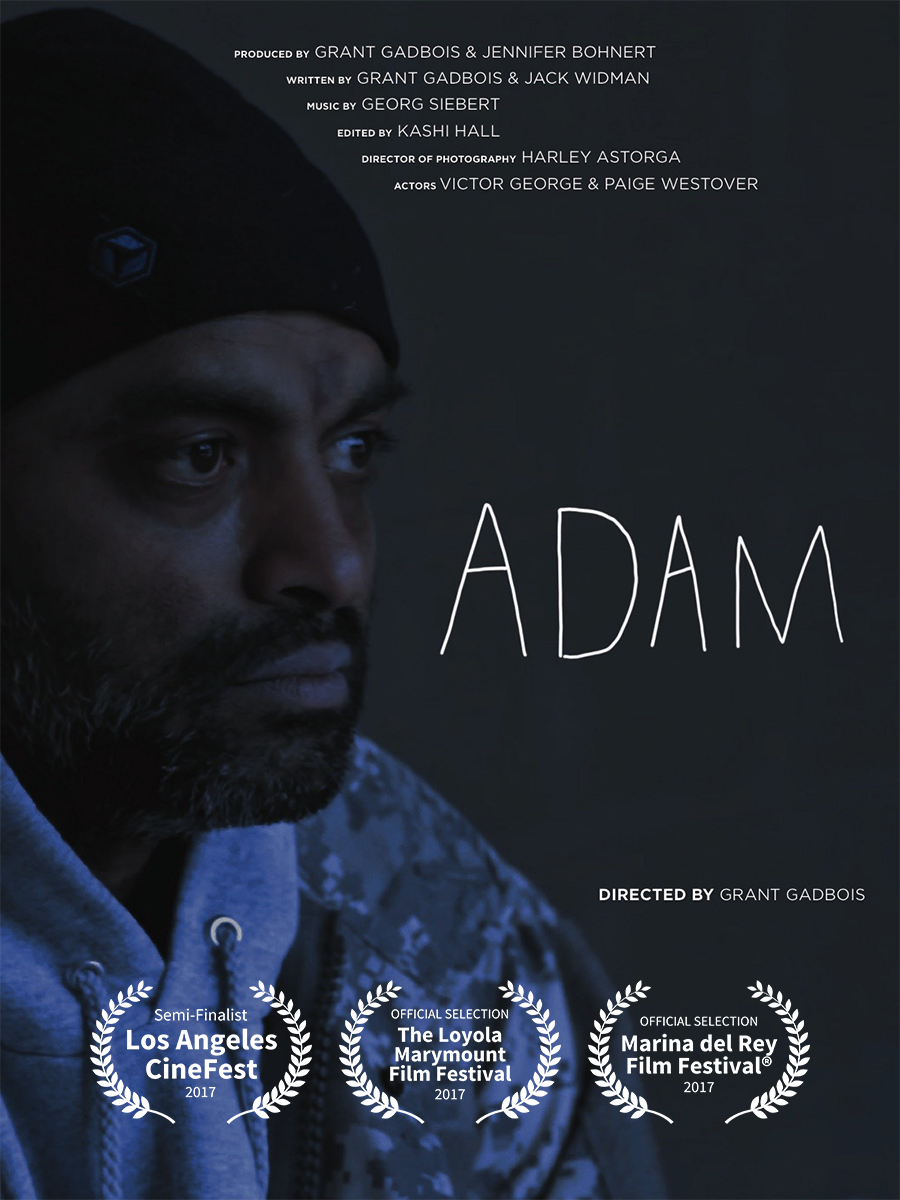 Adam - This short story, inspired by true life events, tells the compelling, melancholic tale of a man without a home, searching for a dream, or something to hold onto. Filmed in May, 2017, the team behind this project was entirely student run, and the film was shot with a budget of practically nothing. It is a simple film, and yet it is honest and holds nothing back. The film can be viewed below.