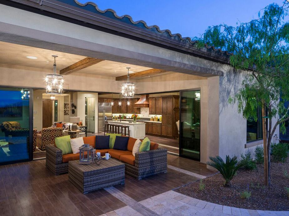 Toll-Bros-Los-Saguaros-at-Dove-Mtn_Montilla_Outdoor-patio-open-to-kitche....jpg