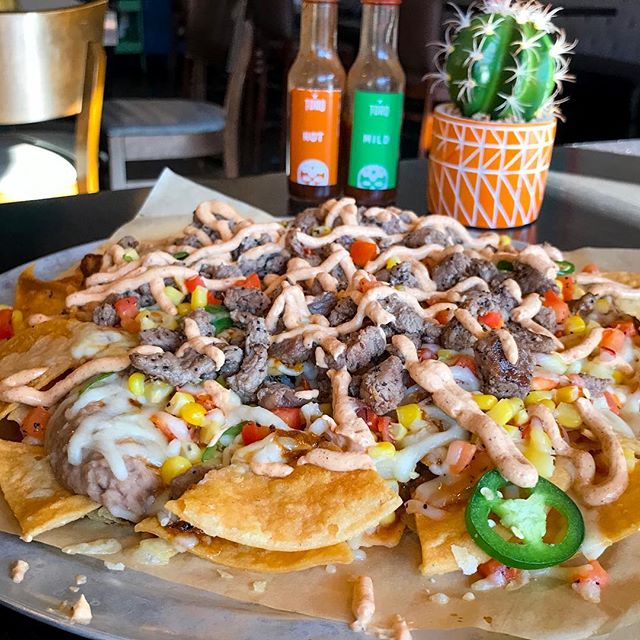 We might not have not-cho mama jokes, but we do have Nacholadas!! Come grab these nachos during lunch today! 11am-3pm, happy hour starts at 3!  #torobozeman #bozemanlunch #lunch