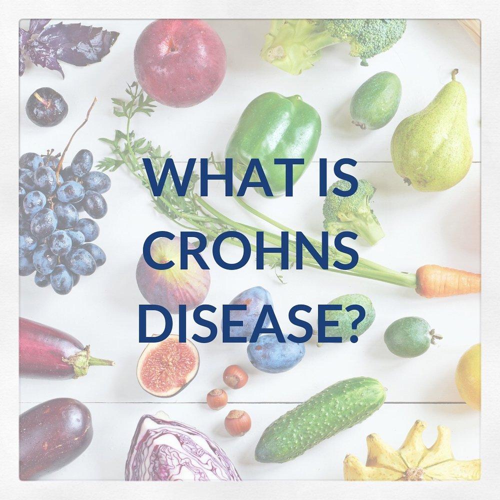 What is crohns disease?