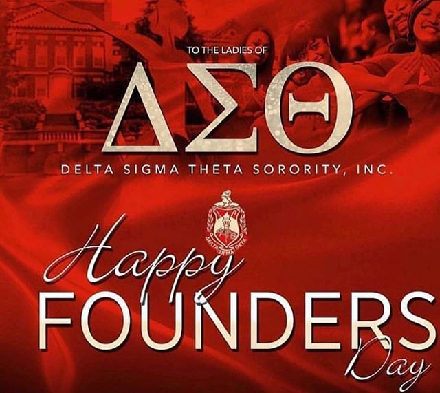 Happy Founders' Day to the women of Delta Sigma Theta Sorority Inc. Special shoutout to Clemson's very own, Omicron Phi Chapter. @_ophi