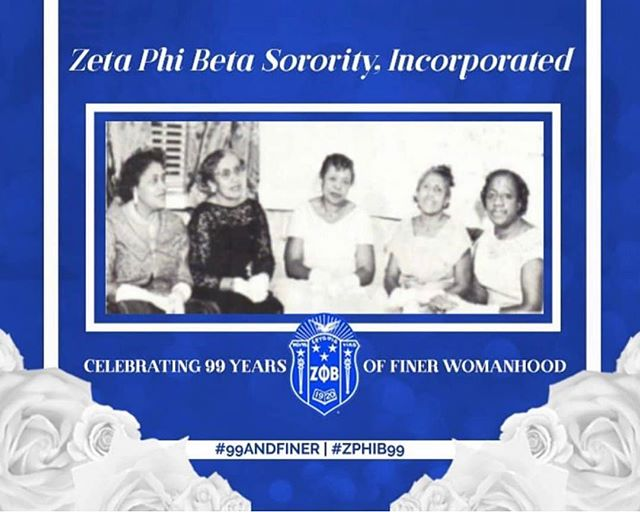 Happy Founders' Day to the women of Zeta Phi Beta Sorority Inc. Special shoutout to Clemson's very own, Eta Nu Chapter. @elegant_etanu