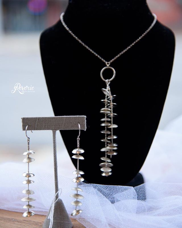 Don't forget! Reverie now sells beautiful, affordable and responsibly sourced jewellery! Stop by to see our great collection!  #Jewellery #Necklace #Earrings #Goshen #Indiana #DowntownGoshen #smallbusiness