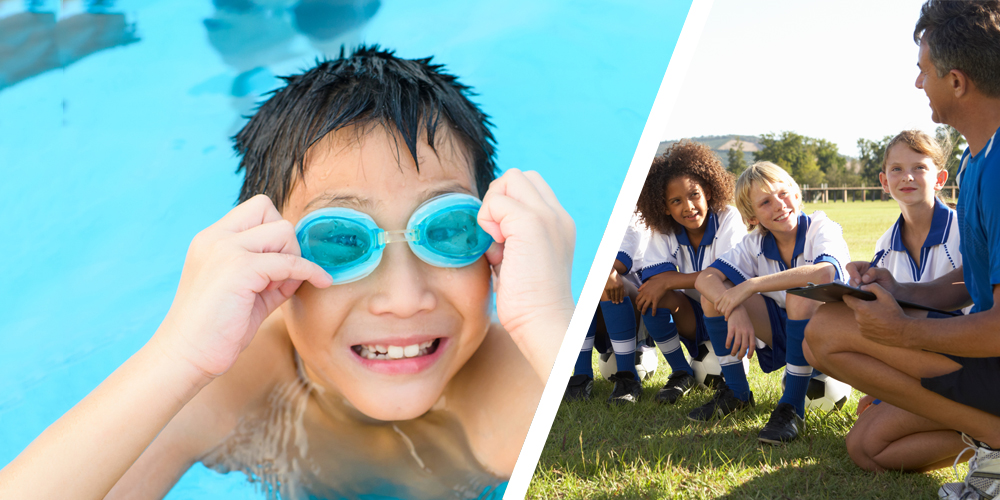 Athletics - Sometimes it seems impossible for your child(ren) to be able to participate in sports when both you and your spouse work. We make football practice, swim team, soccer games, and more a reality for your family.