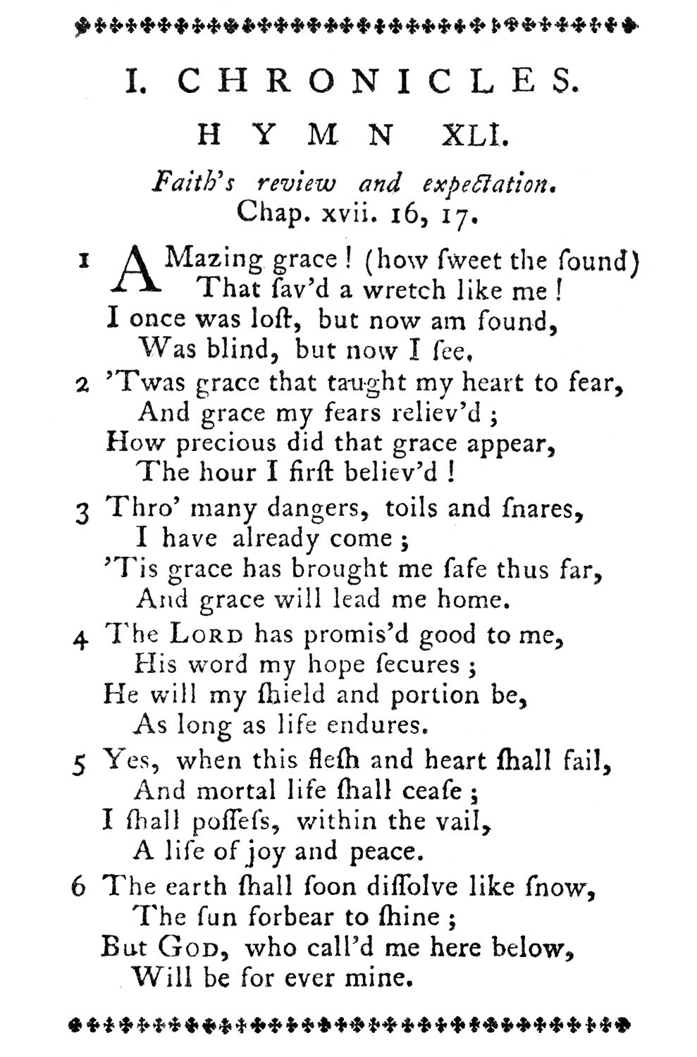 Fig. 1.   Olney Hymns  (1779), p. 53.