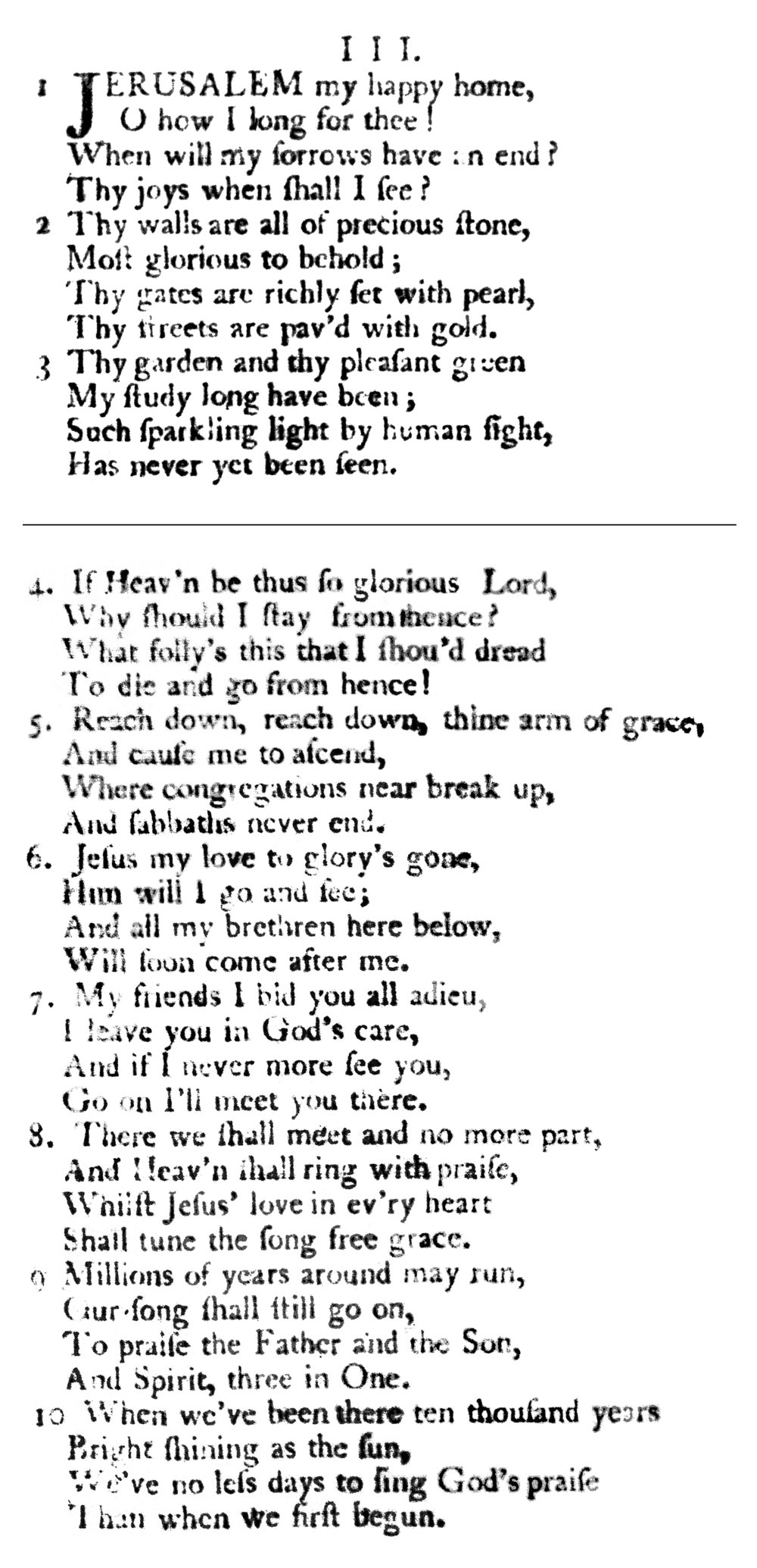 Fig. 2.   A Collection of Sacred Ballads  (1790), no. 3. See stanza 10.