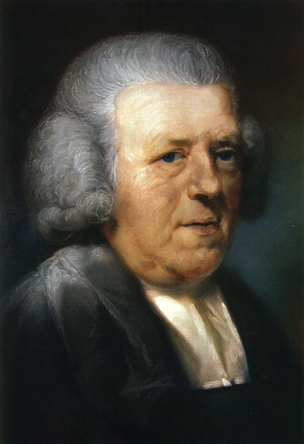 John Newton.  Portrait by John Russell, ca. 1788.