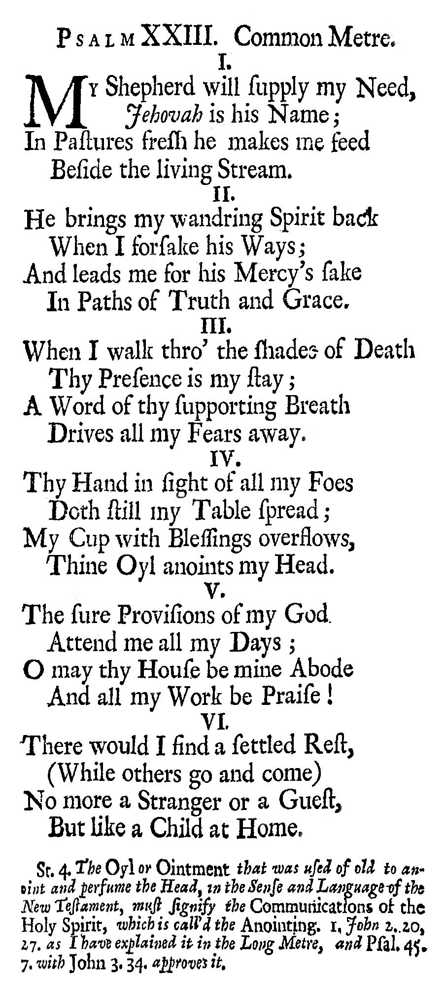 Fig. 1.   Psalms of David Imitated , 1st ed. (1719).