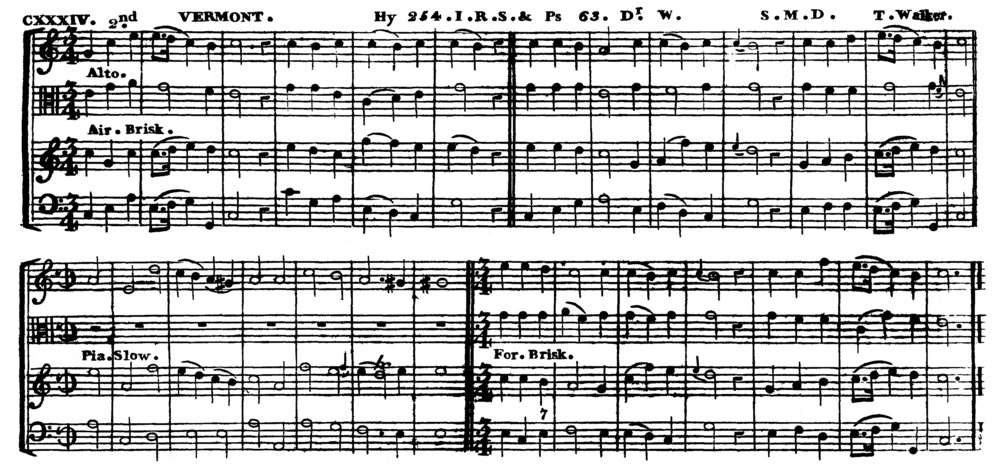 Fig. 2.  VERMONT in John Rippon's  A Selection of Psalm and Hymn Tunes  (1792) ,  edited by Thomas Walker.