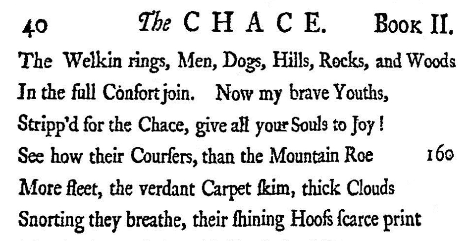Fig. 2.  William Somerville,  The Chase  (1735).