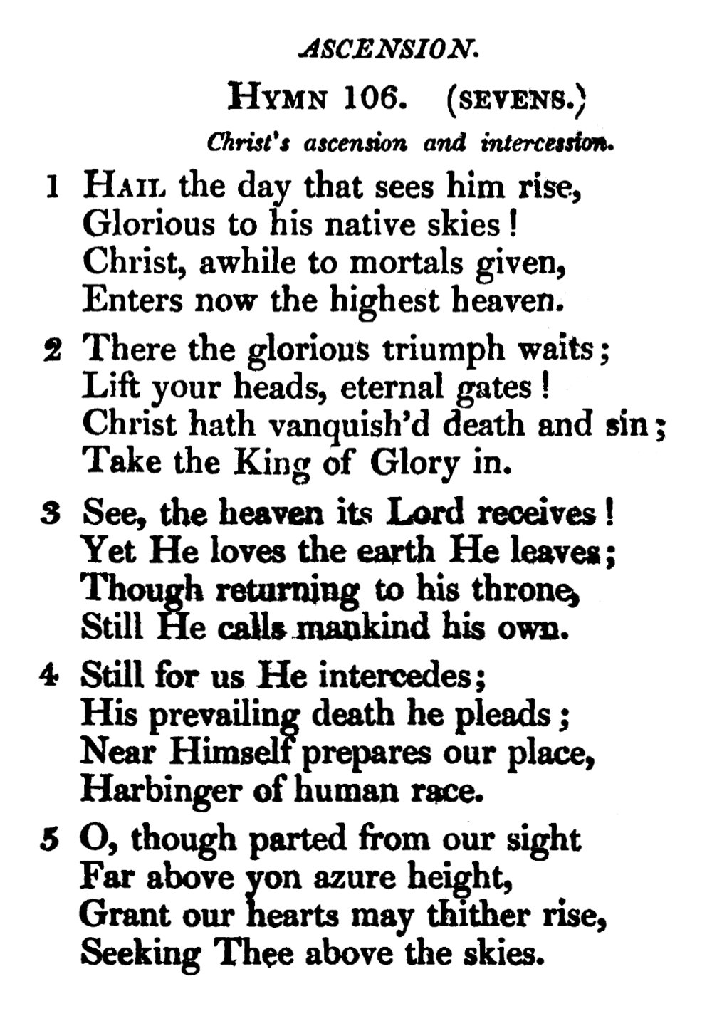 Fig. 2.  Thomas Cotterill,  A Selection of Psalms and Hymns  (1822).
