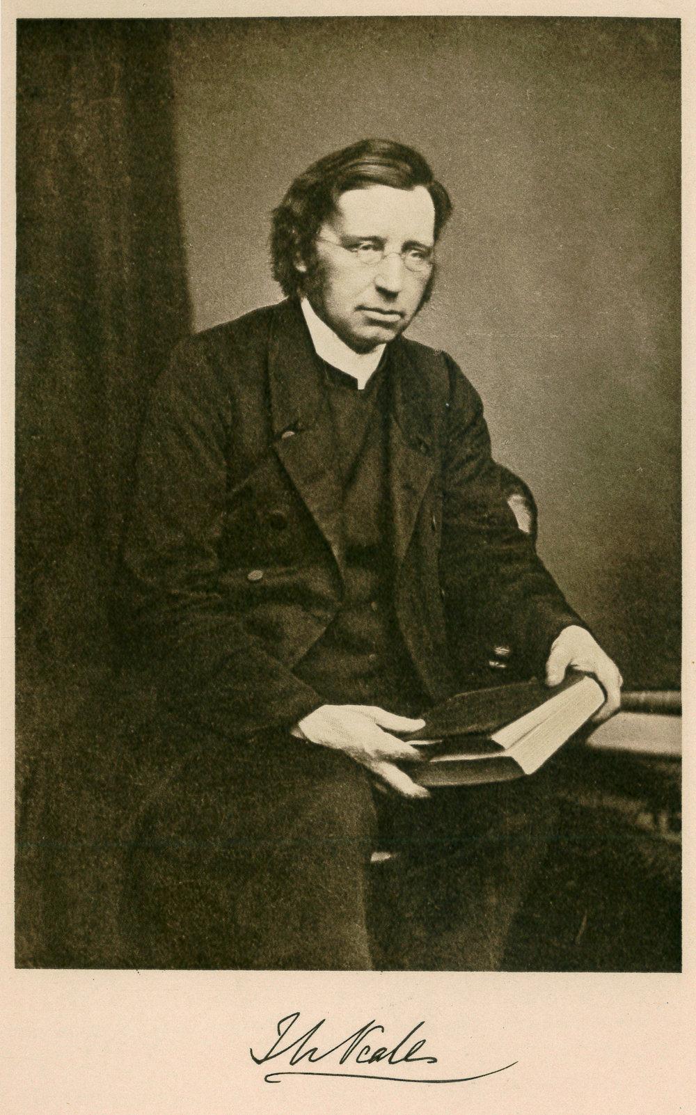 John Mason Neale , from Eleanor A. Towle,  John Mason Neale: A Memoir  (1906).