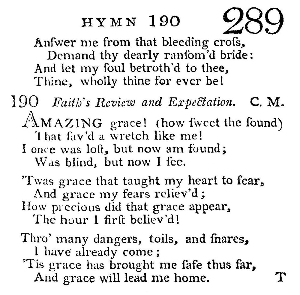 Fig. 4b.   A Select Collection of Hymns Universally Sung in all the Countess of Huntingdon 's  Chapels  (1799).